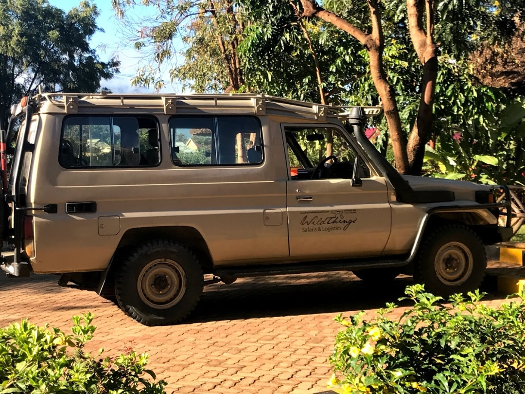 our safari car